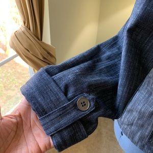 JM Collection Jackets & Coats - JM Collection Button Up Jean Jacket NWOT Size 14